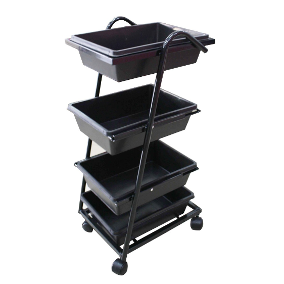 Salon Trolley 216 (4 Tray) | Gogobli