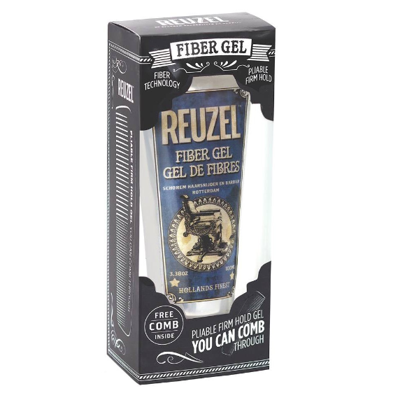 Reuzel Fiber Gel 100ml With Free Comb | Gogobli
